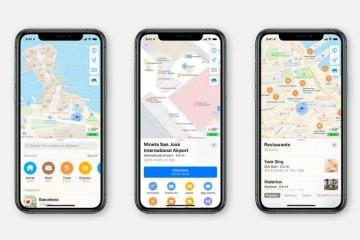 苹果地图从头构建在全美推出导航服务更精确
