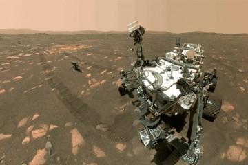 探测器扎堆火星毅力号谁挡我WiFi了