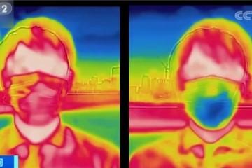 脑洞大开日本推降温口罩自带风扇瞬间降温