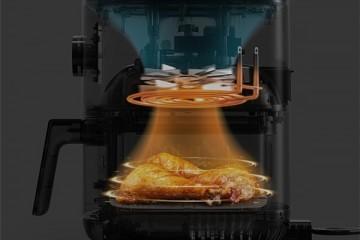 烘烤煎炸、解冻发酵样样精通,小米空气炸锅:你的私人烹饪大师!